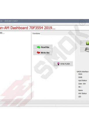Licenca BB0001 Bombardier (Can-Am) Dashboard Bosch 70F3554 20019-... by Dash Cennector